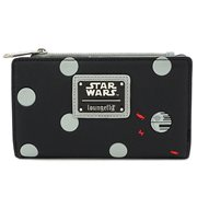 Star Wars Death Star Polka-Dot Bifold Wallet