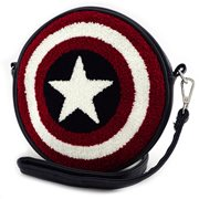 Captain American Shield Crossbody Purse