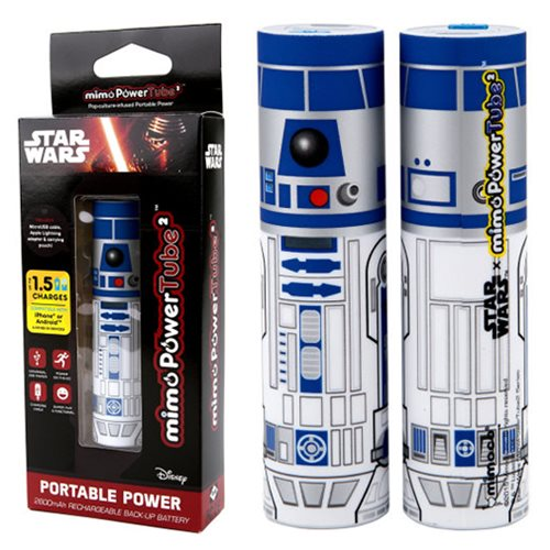 Star Wars R2-D2 Mimopowertube 2 Portable Charger