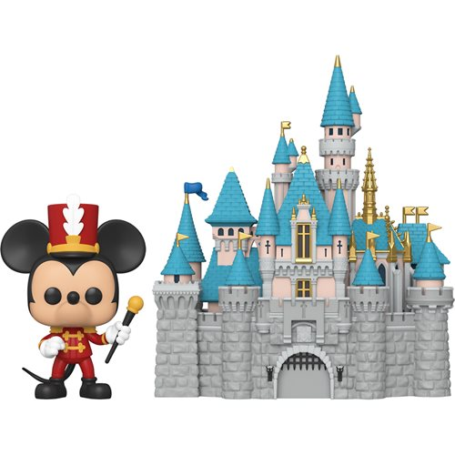 Disneyland 65th Anniversary Castle with Mickey Pop! Town
