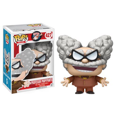 Captain Underpants Professor Poopypants Pop! Vinyl Figure, Not Mint