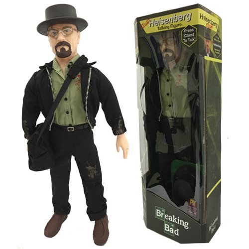 Breaking Bad Fight Heisenberg 17-Inch Talking Figure - San Diego Comic-Con 2015 Exclusive