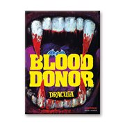 Hammer Horror Blood Donor Flat Magnet
