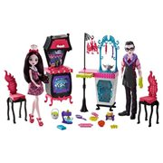 Monster High Family Storytelling Vampire Kitchen Playset