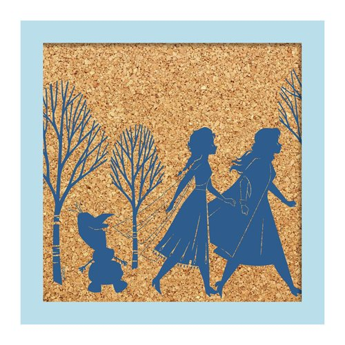 Frozen II Sisterly Love Cork Wall Art
