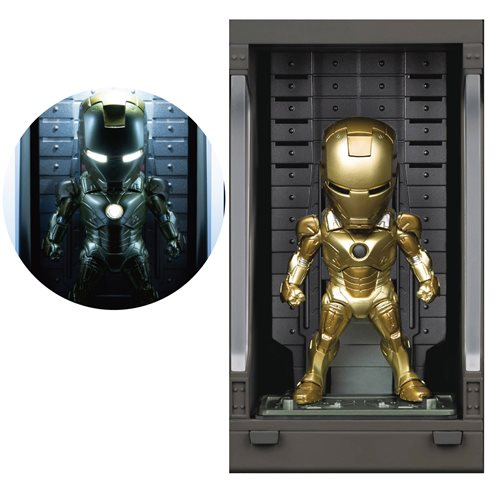 Iron Man 3 Iron Man MK XXI MEA-022 Figure with Hall of Armor Display