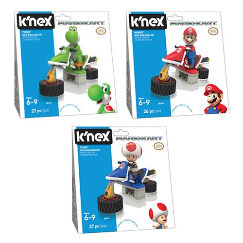 K'NEX Mario Kart Standard Bike Building Set Wave 2 Case