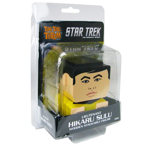 Star Trek: The Original Series Lieutenant Hikaru Sulu Tiki Tiki Totem