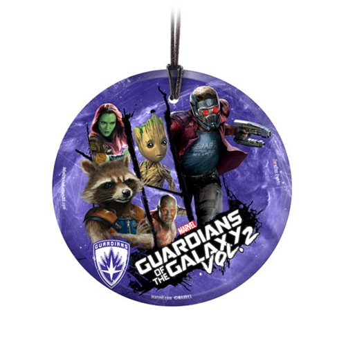 Guardians of the Galaxy Vol. 2 Guardians StarFire Prints Hanging Glass Ornament