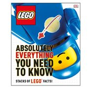 LEGO Absolutely Everything You Need to Know Hardcover Book