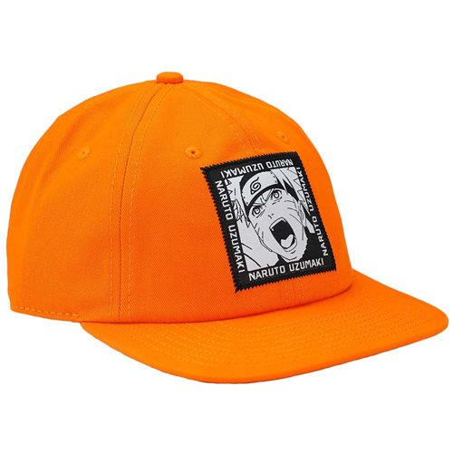 Naruto Woven Patch Slouch Flatbill