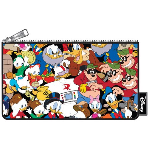 Duck Tales Character Print Pencil Case
