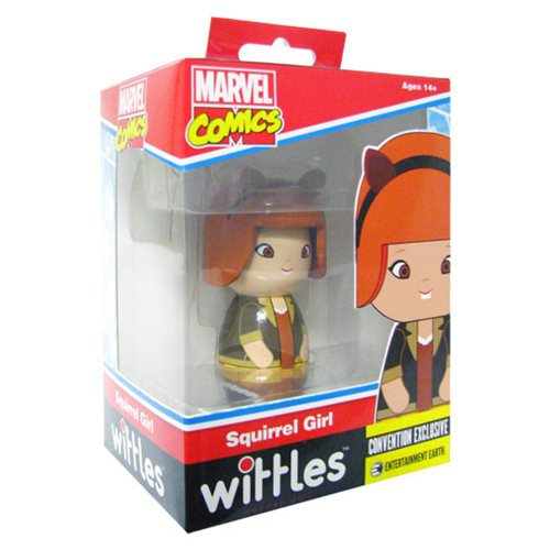 Squirrel Girl Wittles Wooden Doll - SDCC Debut