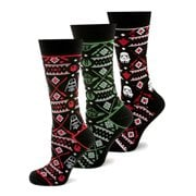 Star Wars Holiday Tacky Sweater Socks 3-Pack