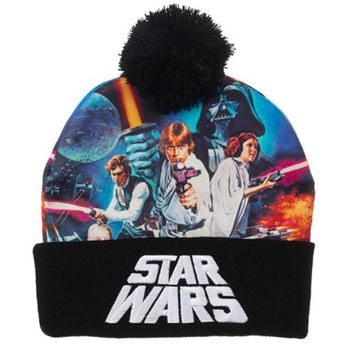 Star Wars: Episode IV - A New Hope Sublimated Crown Beanie