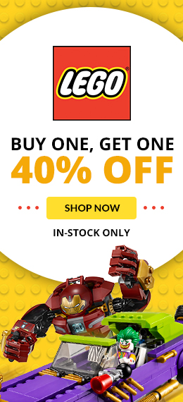 LEGO Buy One Get One 40% Off