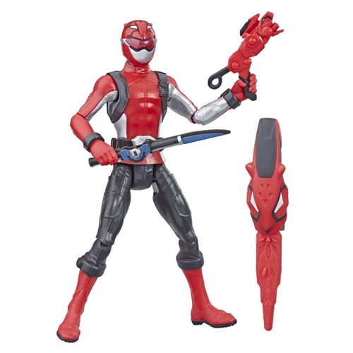 Power Rangers Beast Morphers Red Ranger 6-Inch Action Figure