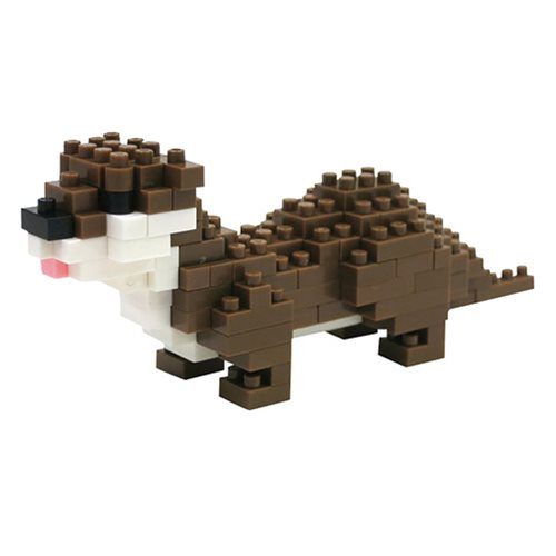 Small-Clawed Otter Nanoblock Constructible Figure