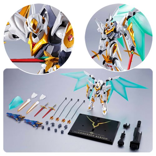Code Geass: Lelouch Of The Rebellion Lancelot Albion Metal Robot Spirits Action Figure