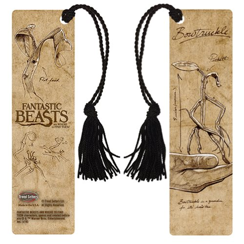 Fantastic Beasts and Where to Find Them Bowtruckle Notes Bookmark