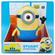 Minions Movie Stuart 7 1/2-Inch Action Figure