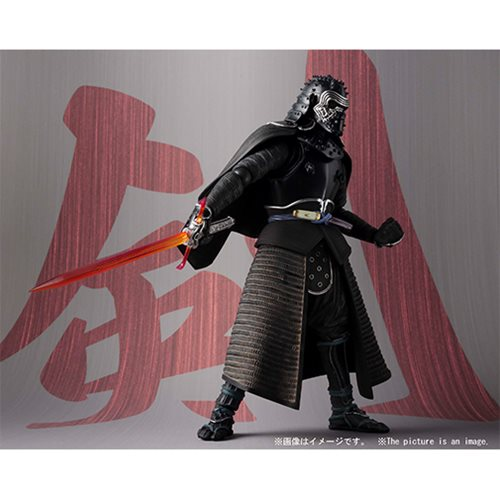 Star Wars Samurai Kylo Ren Meisho Movie Realization Action Figure