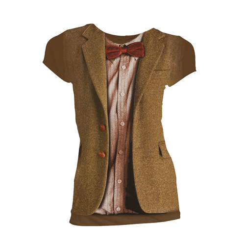 Doctor Who 11th Doctor Costume Ladies T-Shirt