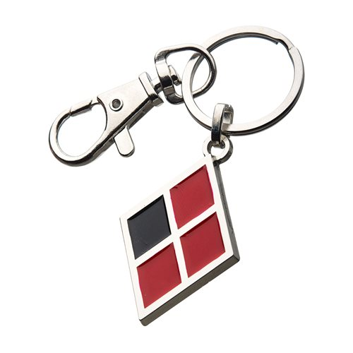 Birds of Prey Harley Quinn Symbol Key Chain