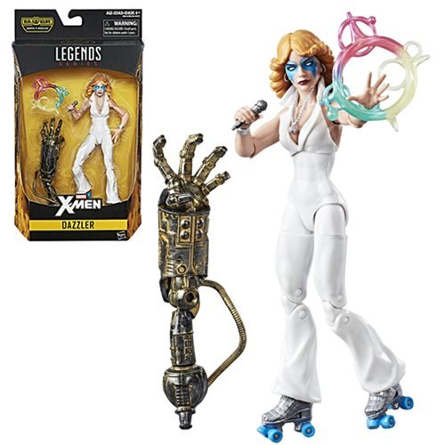 X-Men Marvel Legends 6-Inch Dazzler Action Figure, Not Mint