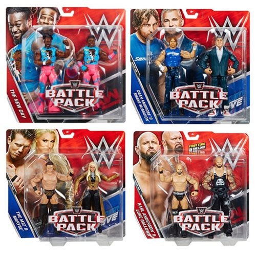 WWE Basic 2-Pack Series 46 Action Figure Case