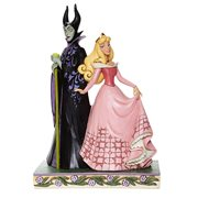 Disney Traditions Sleeping Beauty Aurora and Maleficent Sorcery and Serenity by Jim Shore Statue