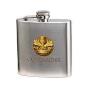 Outlander 6 oz. Stainless Steel Flask