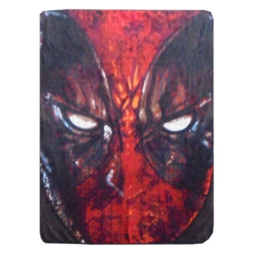 Deadpool Grim Fleece Blanket