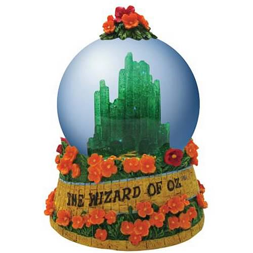 Wizard of Oz Emerald City Water Globe