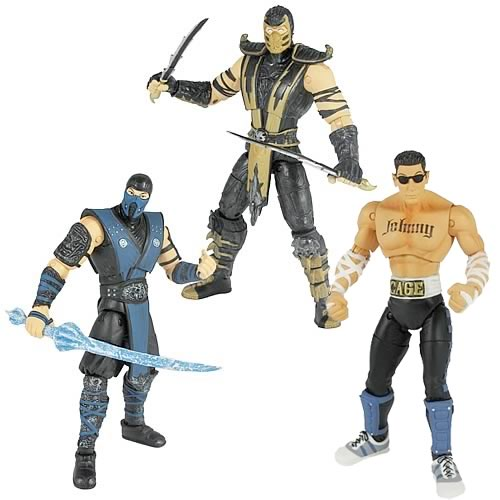 Mortal Kombat 9 6-Inch Action Figures Wave 1 Set