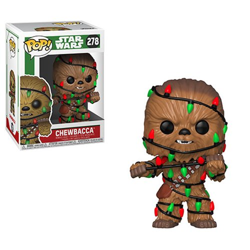 Star Wars Holiday Chewbacca with Lights Pop! Vinyl Figure #278