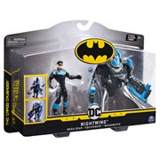 Batman Nightwing 4-Inch Mega Gear Deluxe Action Figure