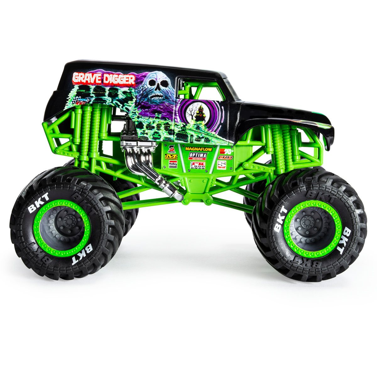 Monster Jam Grave Digger Monster Truck 1 24 Scale Die Cast Vehicle