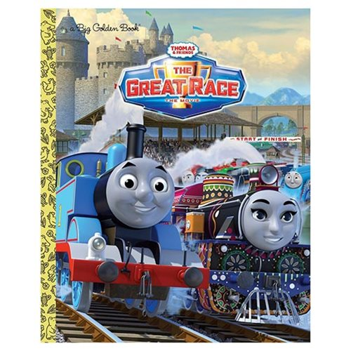 Thomas the Tank Engine Thomas and Friends The Great Race Big Golden Book