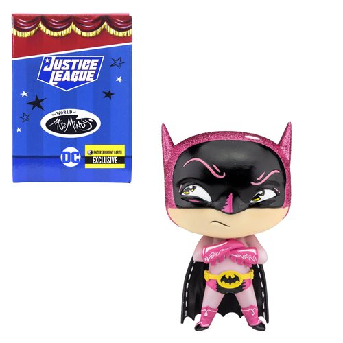 DC Comics The World of Miss Mindy Pink Batman Statue - Entertainment Earth Exclusive, Not Mint