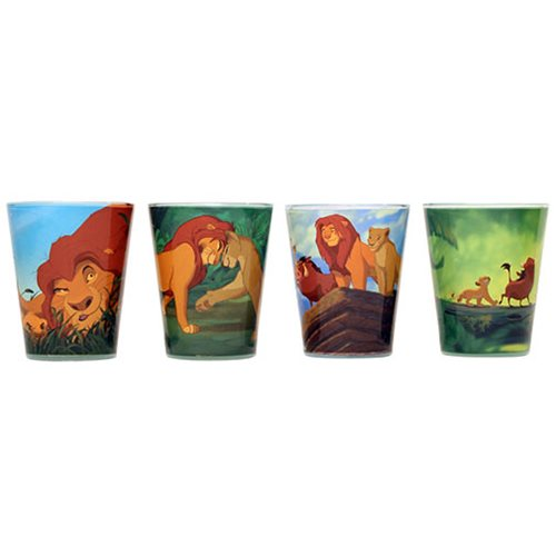 Disney The Lion King Shot Glass 4-Pack