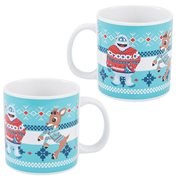 Rudolph and Bumble Ugly Sweater 20 oz. Ceramic Mug