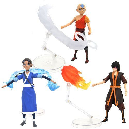 Avatar: The Last Airbender Series 1 Action Figure Set