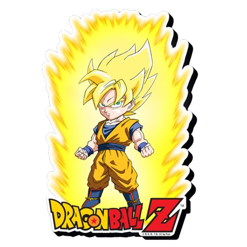 Dragon Ball Z Super Saiyan Goku Youth Funky Chunky Magnet