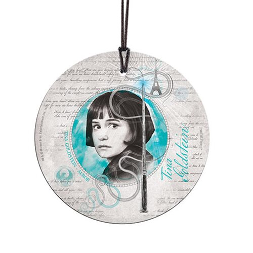 Fantastic Beasts: The Crimes of Grindelwald Tina Goldstein StarFire Prints Hanging Glass Ornament