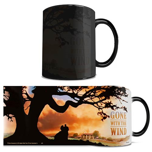 Gone with the Wind Sunset Morphing Mug
