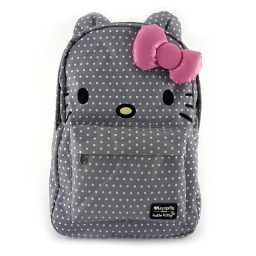 Hello Kitty Polka Dot Backpack - Entertainment Earth bd28c337c2fc1