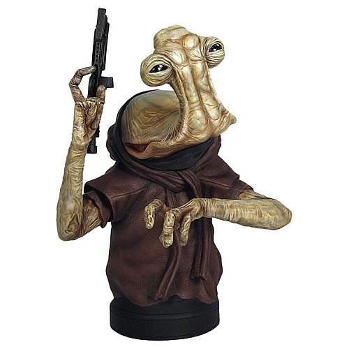 Star Wars Hammerhead Mini Bust