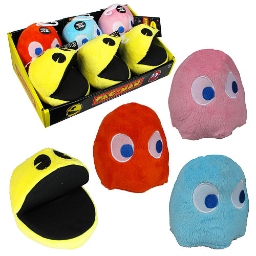 Pac-Man Small Talking Plush Case