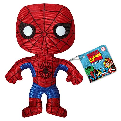 Spiderman 7-Inch Plush
